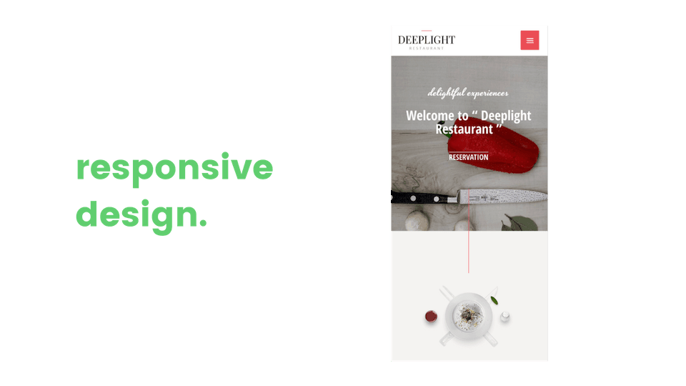 responsive web design mobile friendly and optimized image