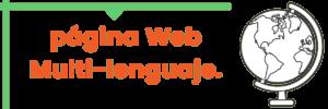 Cómo crear una página web en VARIOS IDIOMAS Web Multi-lenguaje