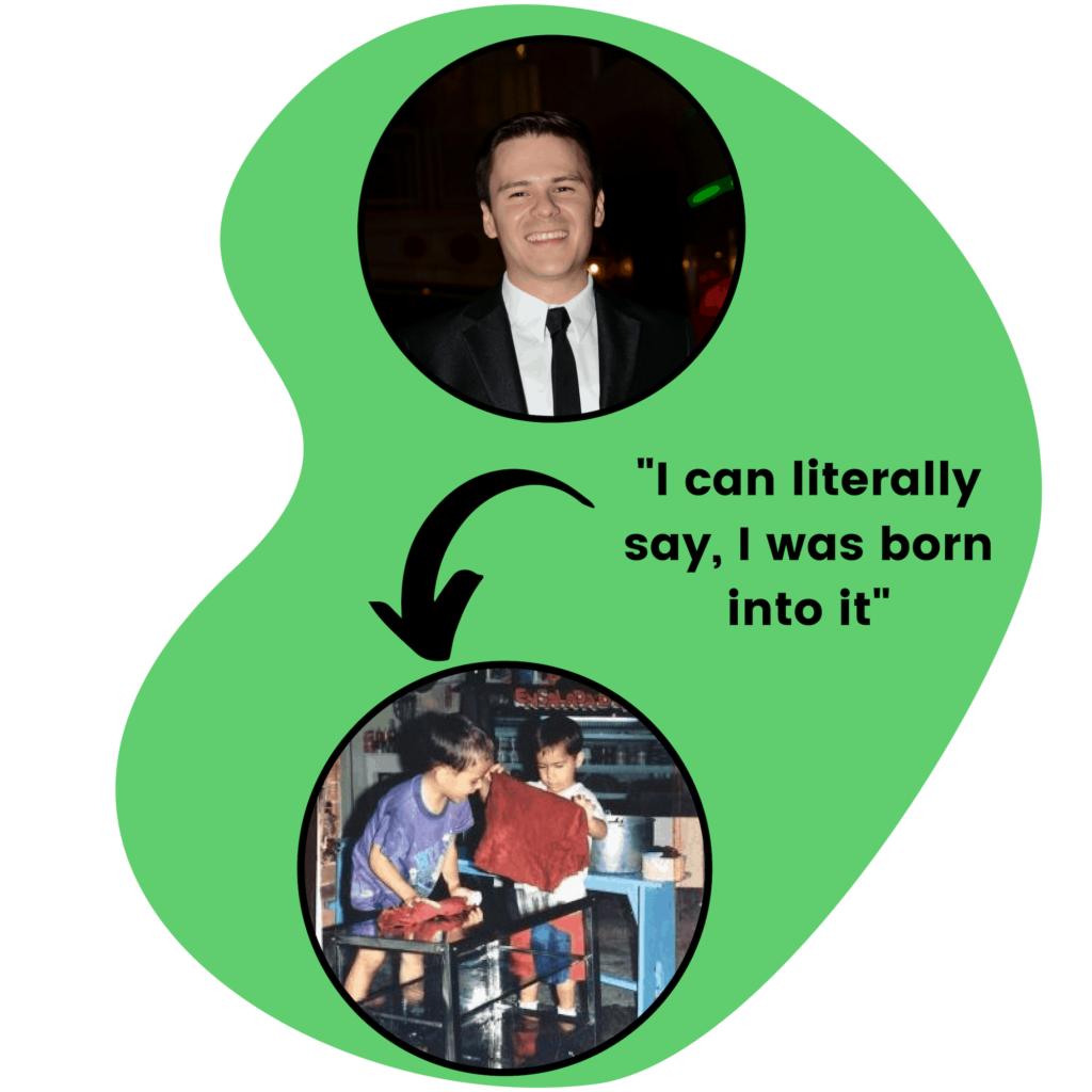 """""""I can literally say, I was born into it"""""""