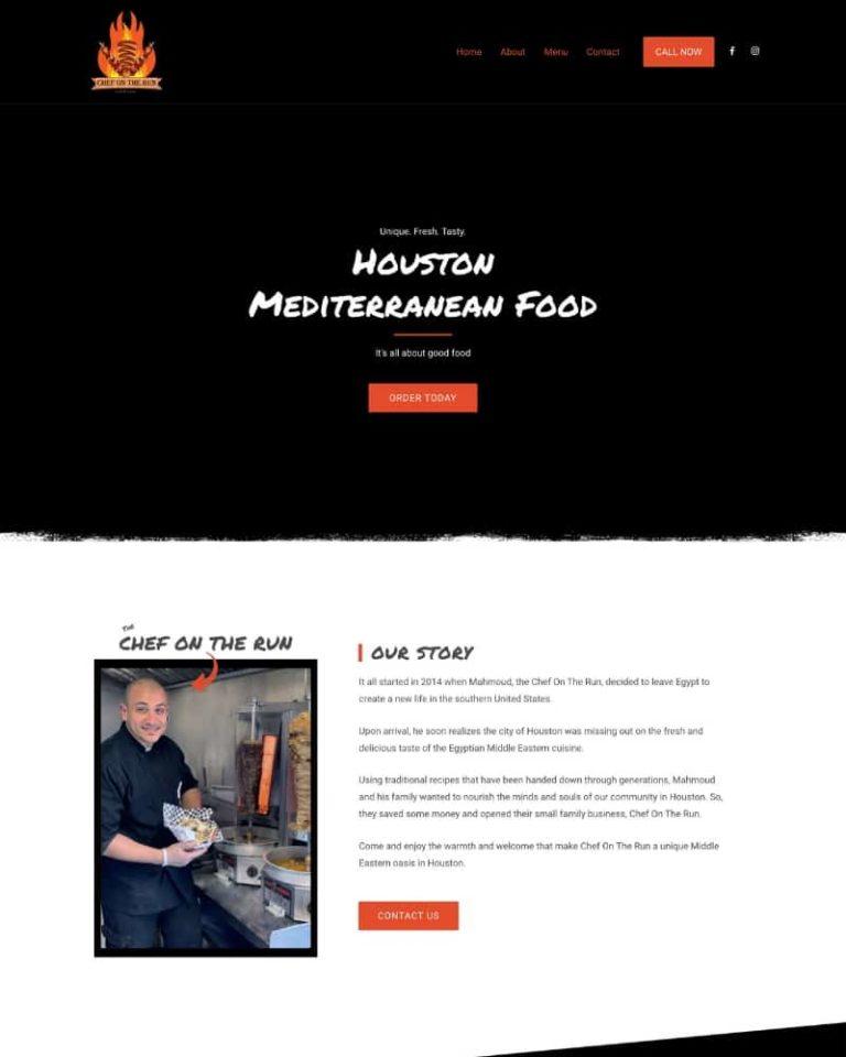 chef on the run marketing for restaurants houston