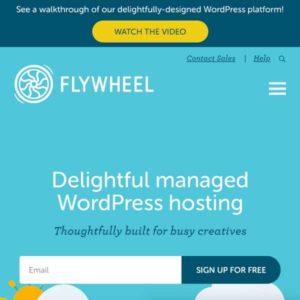 alojamiento web flywheel