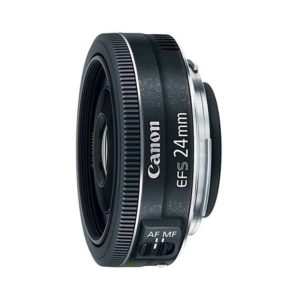 Canon EF S 24mm STM Lens