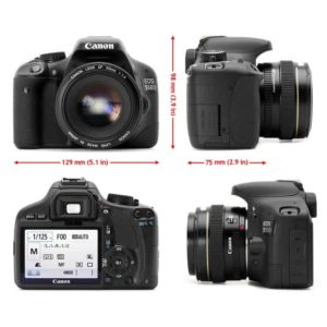 Canon EOS Rebel T2i DSLR Camera Body Only