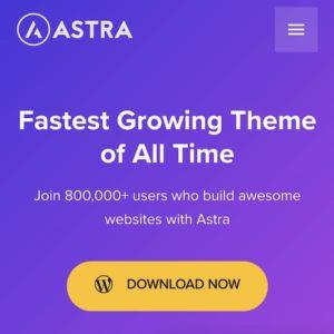 la mejor plantilla wordpress crea paginas web astra theme