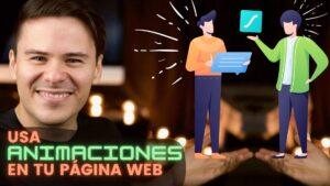Como agregar ANIMACIONES a tu pagina web 2021 usa animaciones en tu página web HD
