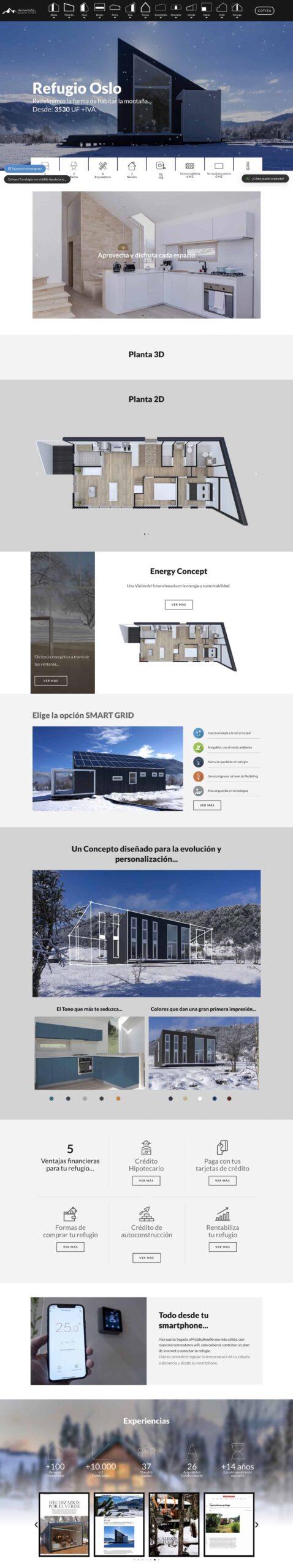 sondys online marketing web design web development houston demontana cl_refugios de montana_oslo