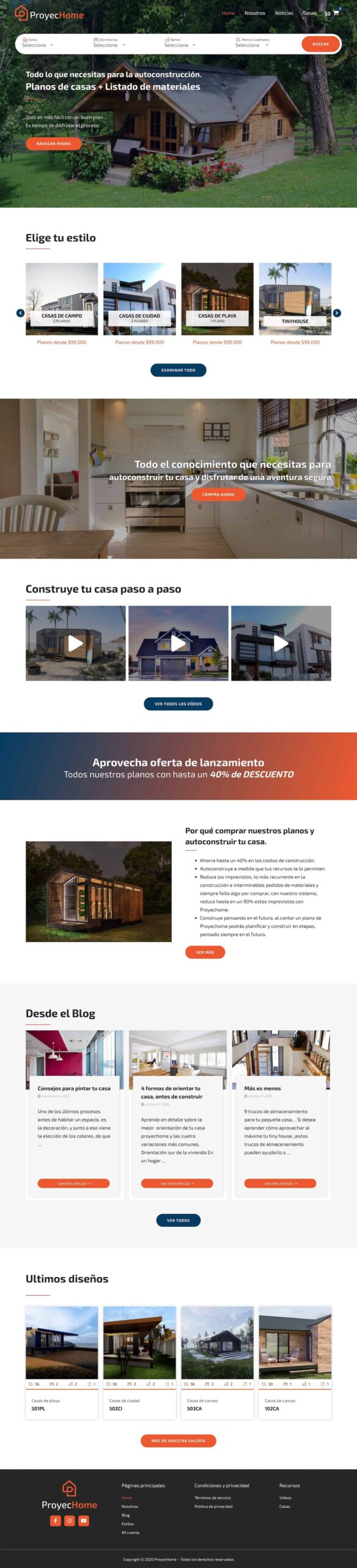 sondys online marketing web design web development houston proyechome.com