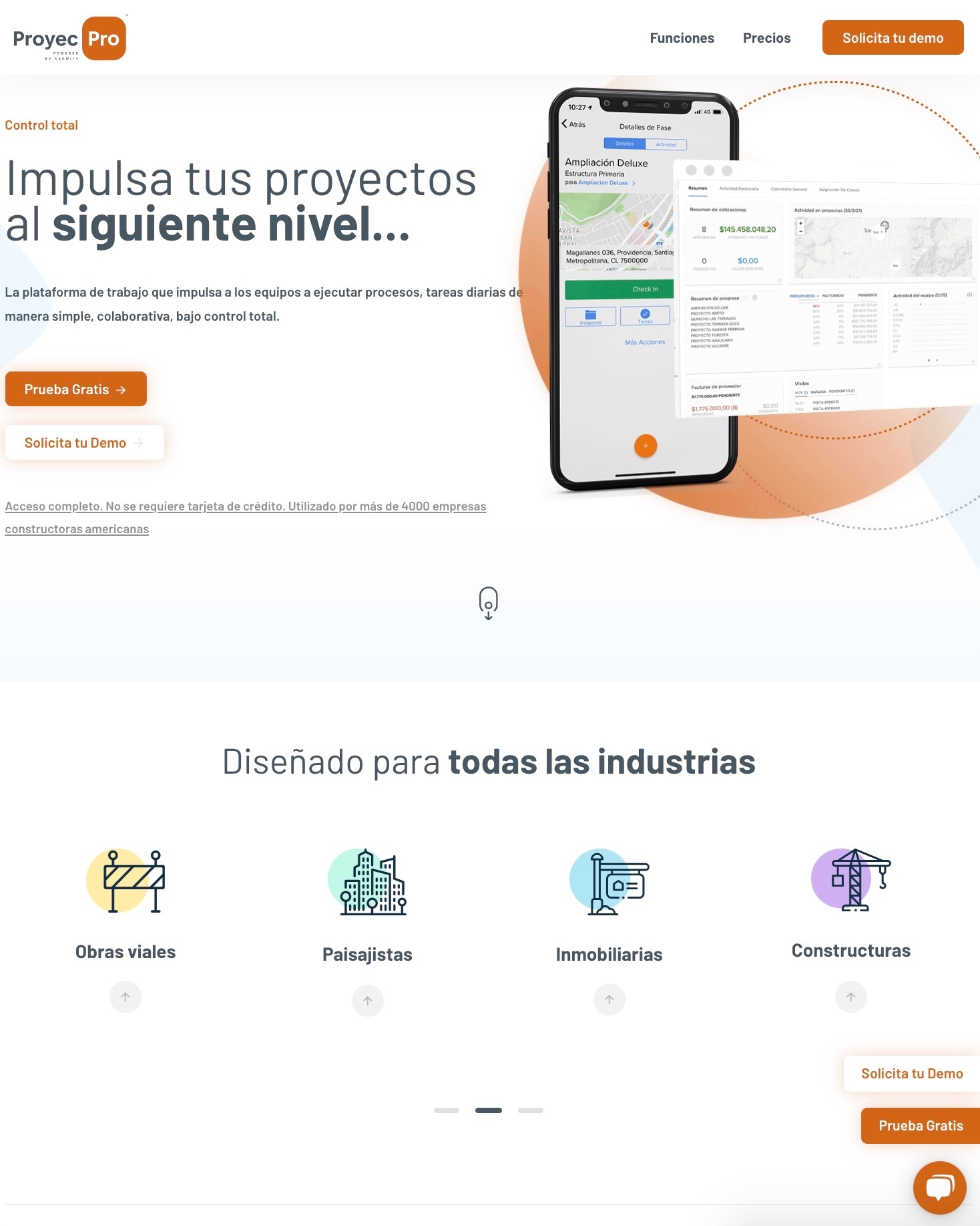 sondys online marketing web design web development houston proyecpro.com